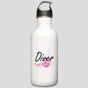 Diver Artistic Job Des Stainless Water Bottle 1.0L