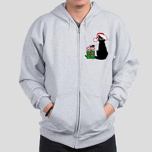 Santa Cat & Mouse Sweatshirt