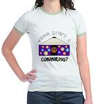 Wanna Start A Commune? Jr. Ringer T-Shirt