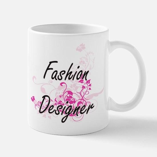 Fashion Designer Artistic Job Design with Flo Mugs