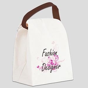 Fashion Designer Artistic Job Des Canvas Lunch Bag