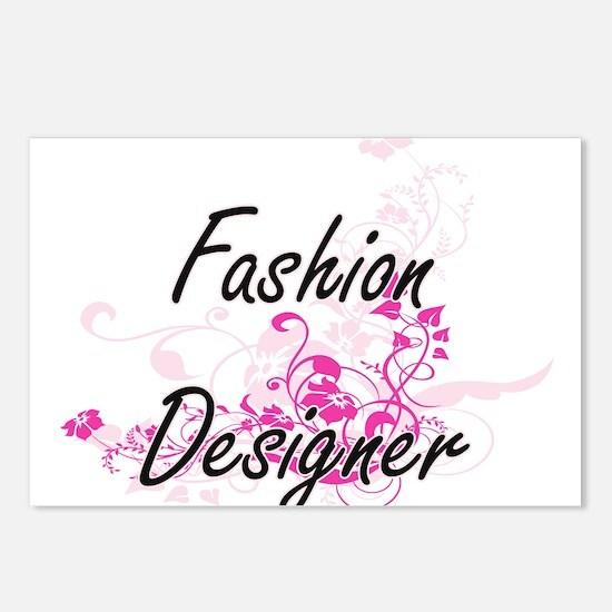Fashion Designer Artistic Postcards (Package of 8)