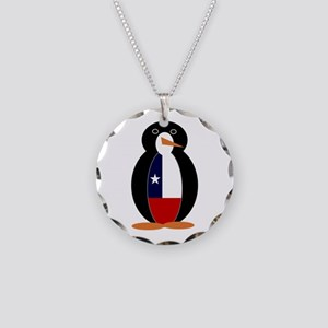 Penguin of Chile Necklace Circle Charm