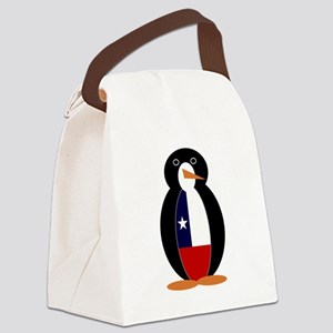 Penguin of Chile Canvas Lunch Bag