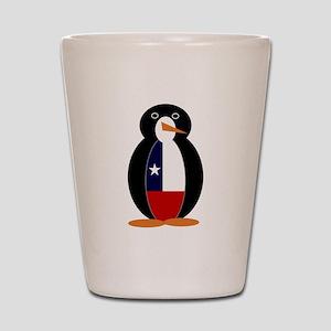 Penguin of Chile Shot Glass
