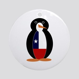 Penguin of Chile Round Ornament