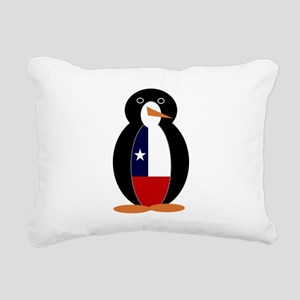 Penguin of Chile Rectangular Canvas Pillow