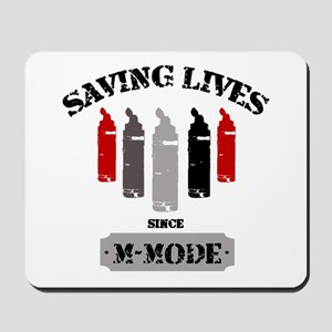 Gel Bottles MMode Red/Blk Mousepad