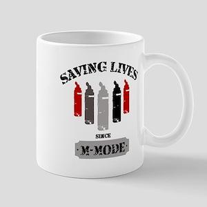 Gel Bottles MMode Red/Blk Mug