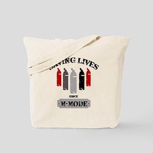 Gel Bottles MMode Red/Blk Tote Bag