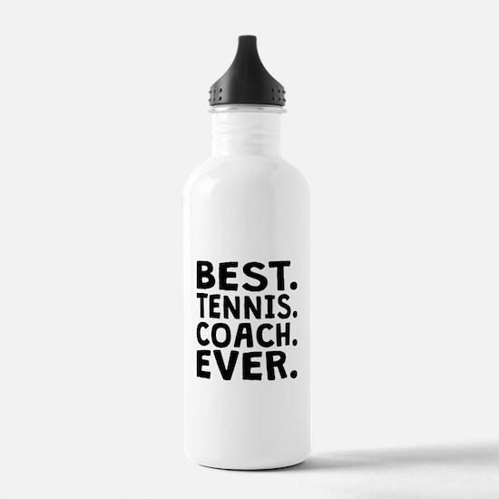Best Tennis Coach Ever Water Bottle