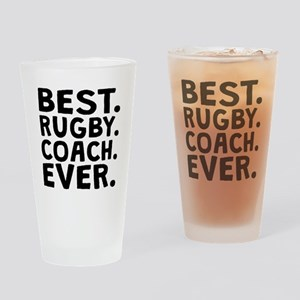 Best Rugby Coach Ever Drinking Glass