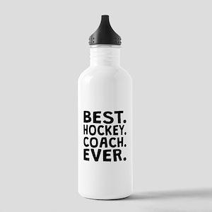 Best Hockey Coach Ever Water Bottle