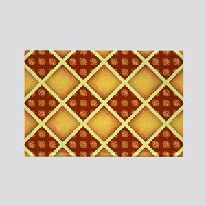GOLD DAMASK Magnets