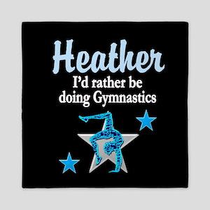Striking Gymnast Queen Duvet