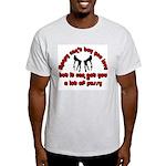 money can't buy you love Ash Grey T-Shirt