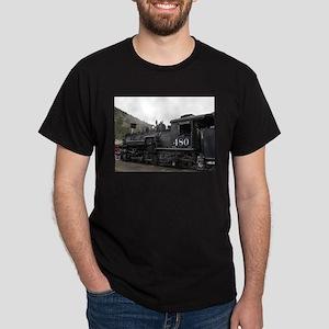 Steam train locomotive, Colorado 10 T-Shirt