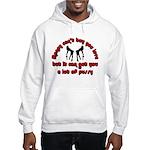 money can't buy you love Hooded Sweatshirt