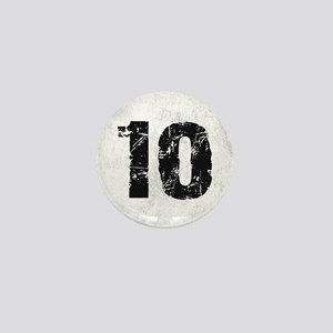 TEN BLACK Mini Button