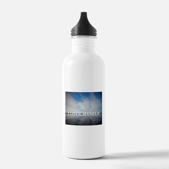 I Love Myself Water Bottle