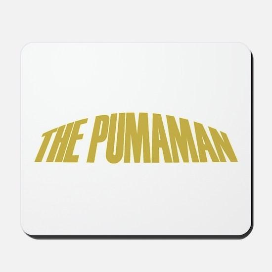 Pumaman Mousepad