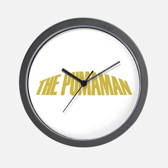 Pumaman Wall Clock