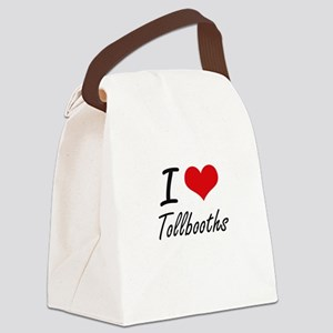 I love Tollbooths Canvas Lunch Bag