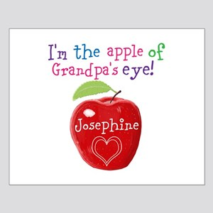 Personalised Kids Apple Painting Poster Design