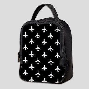 Airplanes Neoprene Lunch Bag