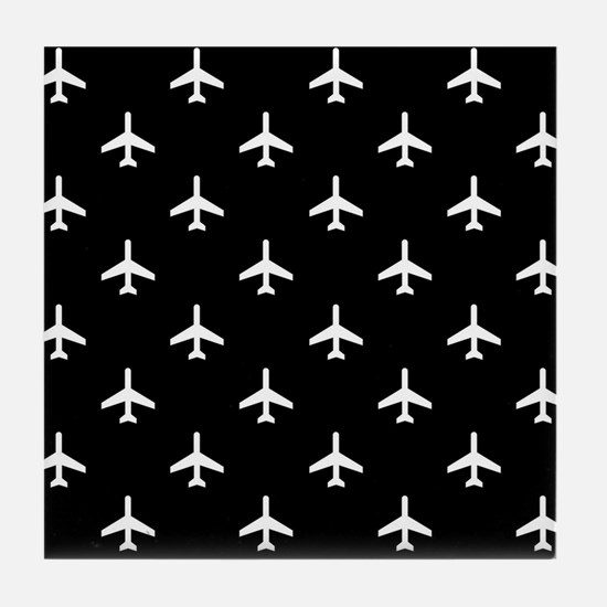 Airplanes Tile Coaster