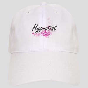 Hypnotist Artistic Job Design with Flowers Cap