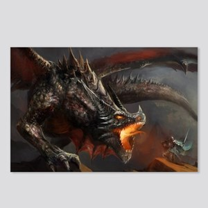 Dragon and Knight Postcards (Package of 8)