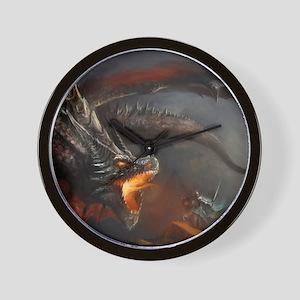 Dragon and Knight Wall Clock