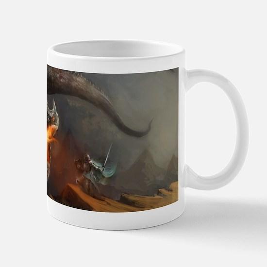 Dragon and Knight Mug
