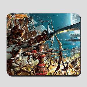 Steampunk Pirates Mousepad
