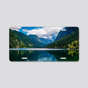 Mountain Valley Lake Aluminum License Plate