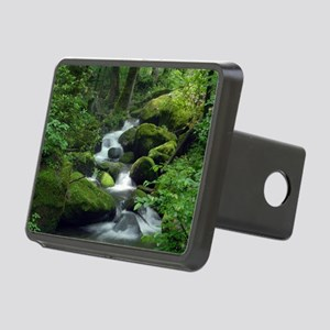 Summer Forest Brook Rectangular Hitch Cover