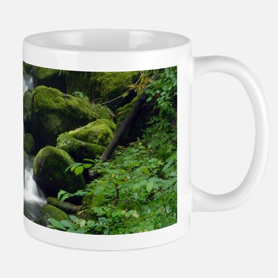 Summer Forest Brook Mug