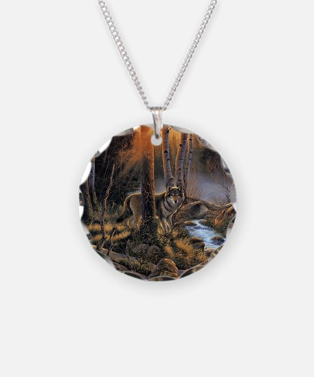 Forest Wolves Necklace
