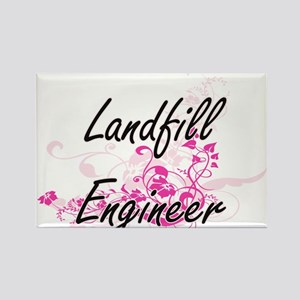Landfill Engineer Artistic Job Design with Magnets