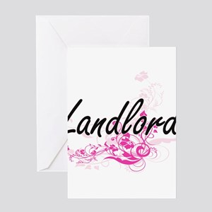 Landlord job greeting cards cafepress landlord artistic job design with f greeting cards m4hsunfo