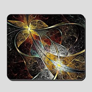 Colorful Artistic Fractal Mousepad