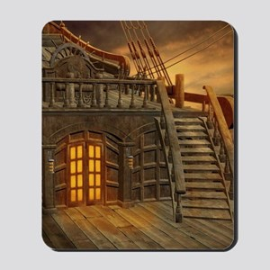 Onboard Pirate Ship Mousepad