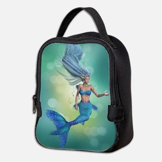 Enchanted Mermaid Neoprene Lunch Bag