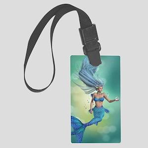 Enchanted Mermaid Large Luggage Tag