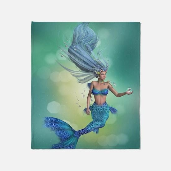 Enchanted Mermaid Throw Blanket