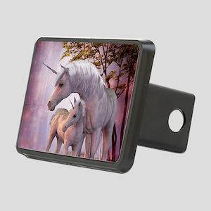 Enchanted Unicorns Rectangular Hitch Cover