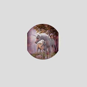 Enchanted Unicorns Mini Button