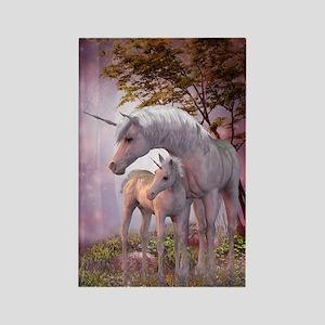 Enchanted Unicorns Rectangle Magnet