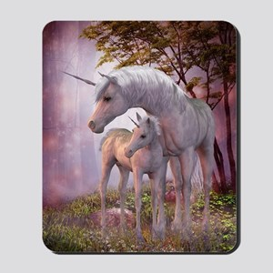 Enchanted Unicorns Mousepad